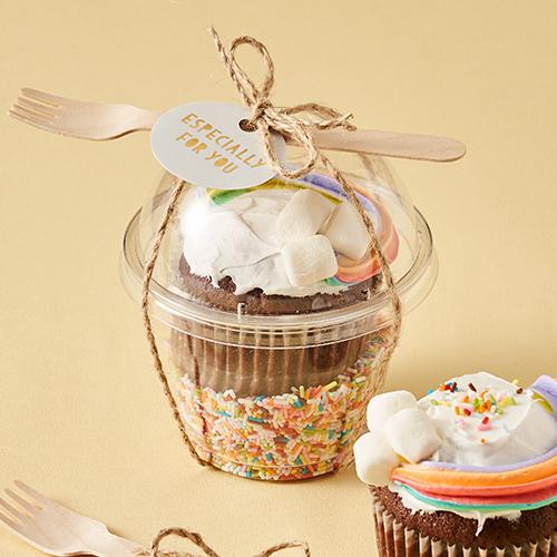 미니 디저트컵 - 뚜껑세트 (5개 / 밑지름 5.5cm)